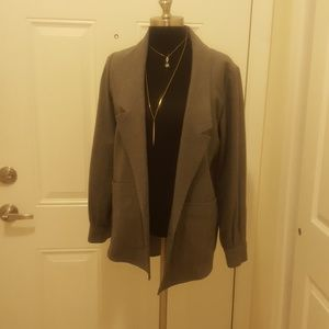 Club Monaco Over Sized Gray Blazer